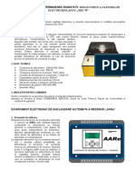 Aparat Pentru Determinarea Rigiditatii Dielectrice a Uleiurilor Electroizolante - ARU 70