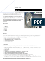 How to Run a Grinding Test