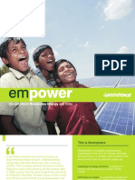 Empower Decentralised Renewable Energy India