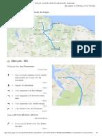 De São Luís - Maranhão a Barão de Grajaú, Maranhão - Google Maps
