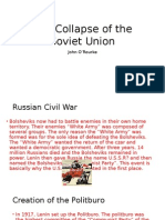 collapse of soviet union 1