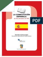 Constitucion Española Lectura Facil