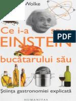 Robert L. Wolke - Ce I-A Spus Einstein Bucatarului Sau