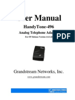 Ht 496 User Manual