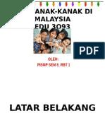 Hak Kanak-kanak Di Malaysia