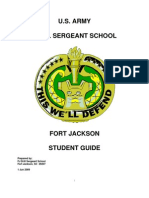 u.s. Army Drill Sergeant School