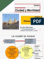 CURSO CIUDAD Y MOVILIDAD