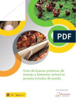Guía de Buenas Prácticas en Granjas Avícolas de Puesta