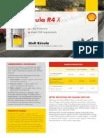 Shell Rimula R4X Brochure