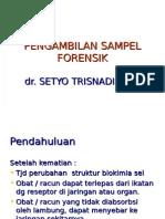 Pengambilan Sampel Toksikologi