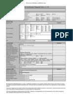 Nets Certification Request Form v.1.1.0