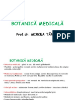 Botanica Medicala