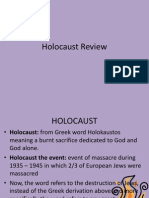 holocaust review