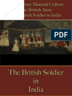 Military - British Army - The British Soldier in India