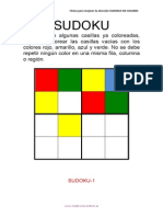 Sudokus Coloreando 4x4