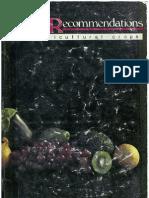 Fertiliser Recommendations Complete