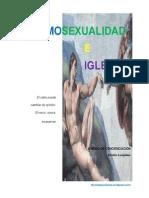 Homosexualidad e Iglesia a Modo de Concienciacion