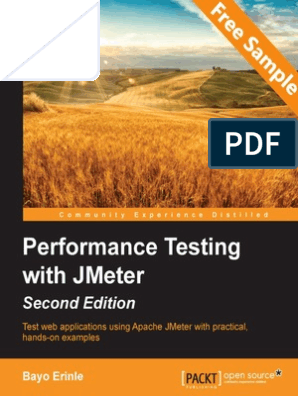 Performance Testing with JMeter Second Edition - Sample