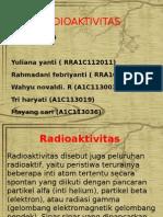 Ppt Radioaktivitas Kel 5