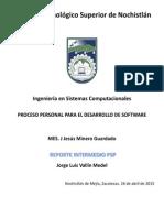 REPORTE INTERMEDIO PSP