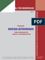 Hormonsubstitution und Endometriumkarzinom