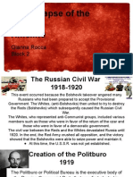 russia u s s r  timeline