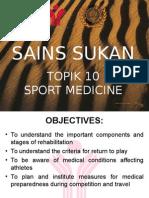 Unit 10 Sport Medicine l3