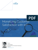 Monetizing Customer Satisfaction With IoT
