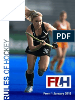 Fih Rules of Hockey 2015