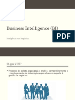 Business Intelligence (BI) - Aula 25-09