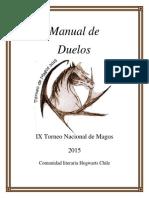 Manual de Duelos HARRY POTTER