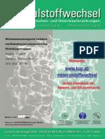 Wirbelsäulenchirurgische Verfahren und Bedeutung bei osteoporotischen Wirbelkörperfrakturen