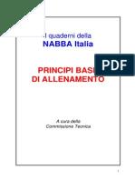 Principi Base Dell'Allenamento - NABBA
