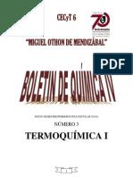 Termoquimica I