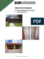 Instructivo Tecnico 2014