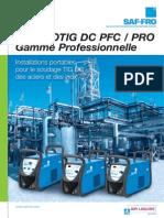 Brochure 6pages Prestotig Dc Pro Range Fr w77581