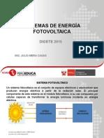 Ppt Sistemas de Energia Fotovoltaica 2015