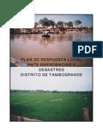 Plan Resp Local Emerg Tambogrande Piura