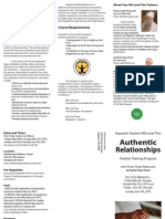 l2 authentic relationships brochure 2015