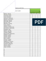 Grading Sheet K-12 for Sy 2015-2016 (Mapeh)