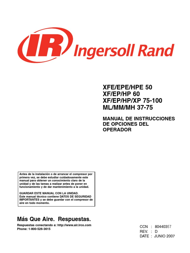 Ingersoll rand 375 air compressor parts manual youtube.