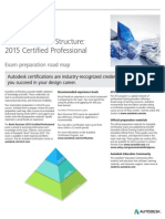Autodesk Revit Structure 2015 Certification Roadmap