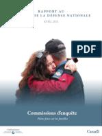 commission d'enquête-Plein feux sur les familles