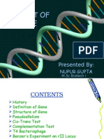 Concept of Gene