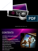 Microsoft Surface Ppt From EnggRoom