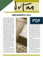 NOTAS nº 117 2010 (Banco de Idéias nº 49) - Orçamento 2010