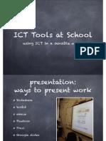 ICT Tools at School