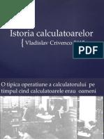 Istoria calculatoarelor ppt
