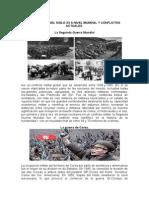 Conflictos Del Siglo Xx a Nivel Mundial y Conflictos Actuales