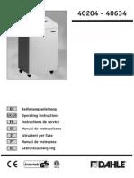 dahle shredder user manual.pdf